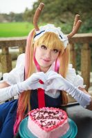 Tohru's Valentine Cake, Dragon Maid Cosplay by firecloak