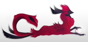 Cardinal Griff by QuillCoil