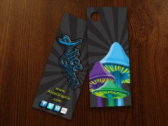 Alice Graphix Apparel Hang Tag by AliceGraphix