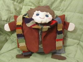 Fourth Doctor Pillow by orinocou