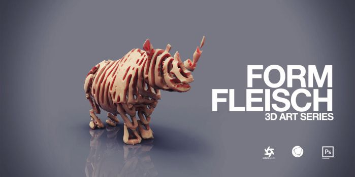 FORM FLEISCH (3D-Art Series) by nenART