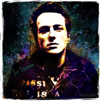 Joe Strummer by Chrisdesign