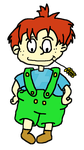 Rugrats: Timmy-Ray Pickles (2 years old) by Noizy-Bunny