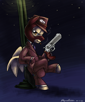 COMISSION - RED Pegasi Spy by reynaruina
