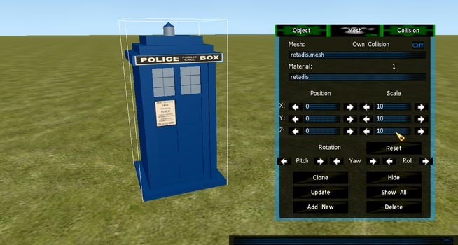 Definitly not a Tardis mesh by FeralH-Abominations
