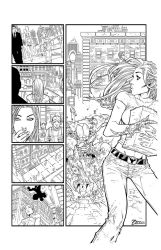 FCD P2 Witch Blade INK / topcow by Zimprich