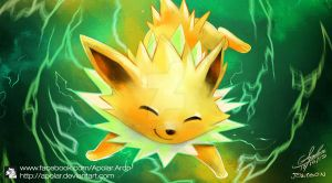 JOLTEON | EEVEELUTION | DAY 6 | by Apolar