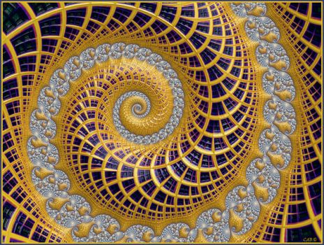 Patterned Spiral by antarctica246