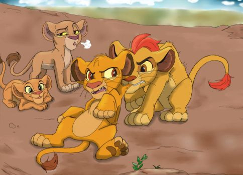 TLK.TLG: Simba Nala Cubs Again!? part 2 by Xx-JungleBeatz-xX