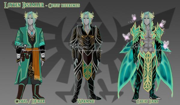 Loyren's outfit references by Webmegami