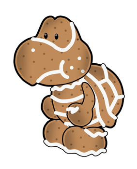 PM14: Gingerbred Koopa by The-PaperNES-Guy
