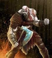 Kratos by Fuacka