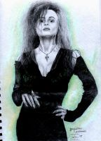 Bellatrix Lestrange by DarkButSoLovely