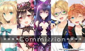 open Commission(japaness and korean only) by Trianon-dfc