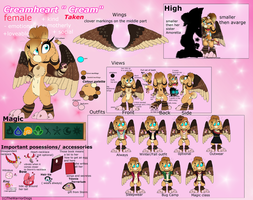Cream's ref without clothing by TheWarriorDogs