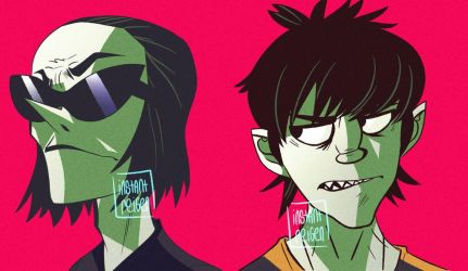 Phase 5 Murdoc and Ace by instantreigen