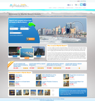 hotels reservations website grey style by LETSOC