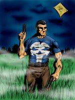 The Punisher - Jungle by mawkus