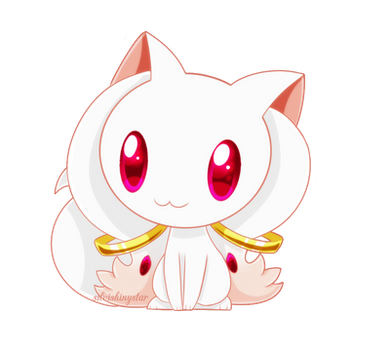 Chibi Kyubey by SilviShinyStar