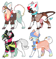 DOGs batch #3 - SOLD by swabblers