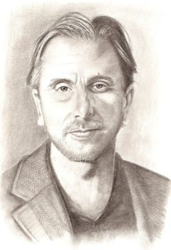 tim roth by Orbski