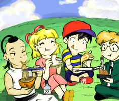 Mother 100: Lunch by Magic-Cake-Woman