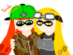 Inklings: Tomato and Michelle by mitchika2