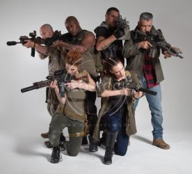Post Apocalyptic Group 49 - Stock Photography by NeoStockz