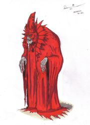 Ommadon, The Red by Killjoy1230