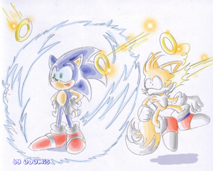 Sonic 3: Electric shield by ThePandamis