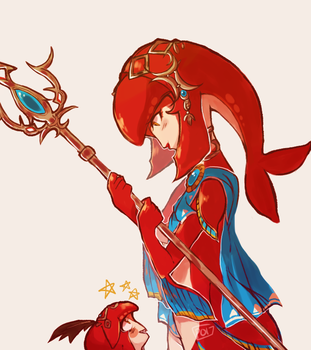 mipha's song by pomarril
