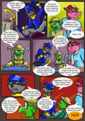 Sly Cooper: Thief of Virtue Page 13 by ConnorDavidson