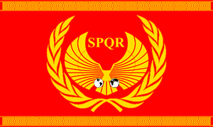 Modern Roman Flag by 1Wyrmshadow1