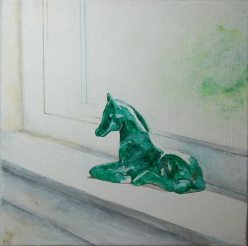 Green Horse by nncybntn