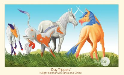 Day Trippers by bardicsidhe