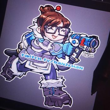 Mei Sticker Design by Banzchan