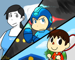 Trainer, Android, Villager by NSYee36