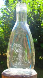 Rarity bottle engraving by Malte279