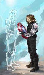 Captain America: The Winter Soldier - Memories by maXKennedy