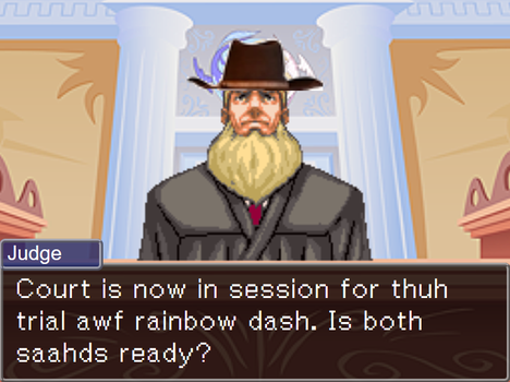 Behold it is DLC Judge! Cowboy Judge! by EeveeProtect