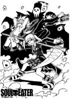 Soul Eater - Fight on by Uky0