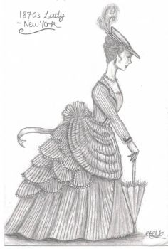 1870s Lady by eponinelle