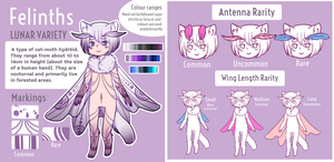 Felinth - Semi-open Original Species by gannetcloud