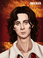 Harry Potter - Younger Sirius Black by K-yon