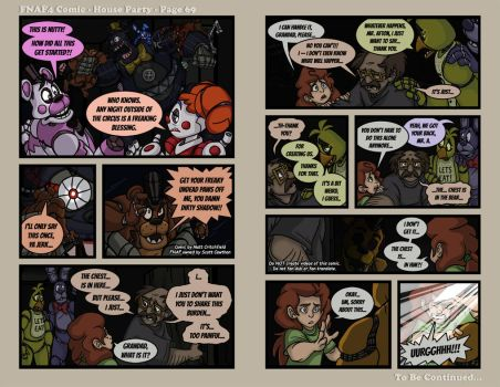 FNAF4 Comic - House Party - Page 69 - 5-26-17 by Mattartist25