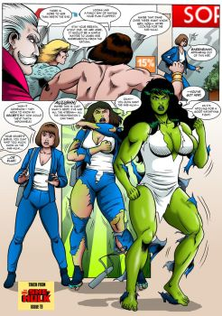 The Savage She-Hulk Lives! by MikeMcelwee