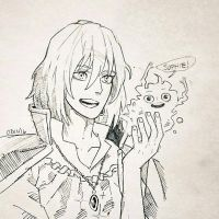 Howl sketch  by studioodin