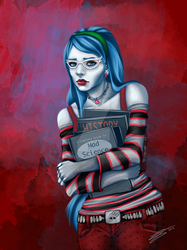 Ghoulia Yelps by TeraSArt