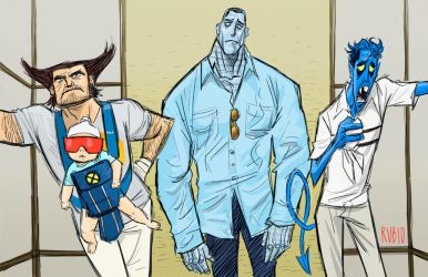 A Very X-Men Hangover by BobbyRubio