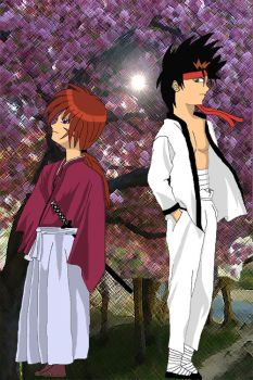 Contest: Kenshin and Sano by The-Vampire-Danchan